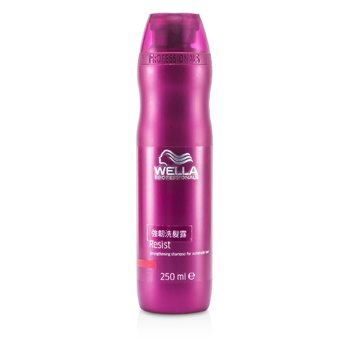 Wella Wzmacniający szampon do włosów słabych, zniszczonych Resist Strengthening Shampoo (For Vulnerable Hair)  250ml/8.4oz