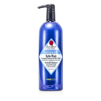 Jack Black Turbo Wash Energizing Cleanser For Hair & Body  975ml/33oz