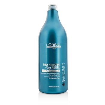 L'Oreal Professionnel Expert Serie - Pro-Keratin Refill Correcting Care Shampoo (For Damaged Hair)  1500ml/50.7oz