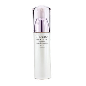 Shiseido White Lucent Brighten. Protect. Emulsion W SPF 15 (Made in USA)  75ml/2.5oz
