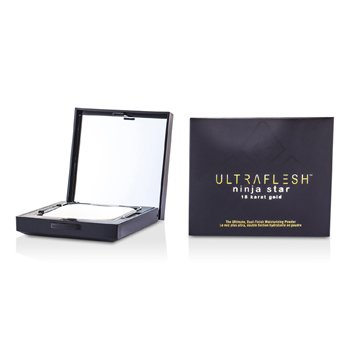 Fusion Beauty Ultraflesh Ninja Star 18 Karat Gold Dual Finish hidratáló púder - # Suffused  7.7g/0.27oz