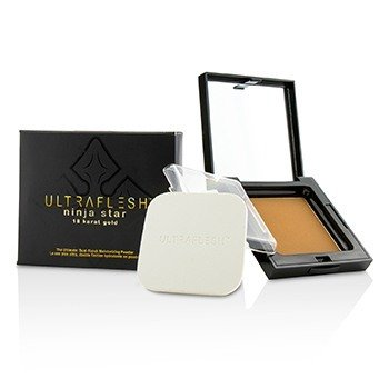 Fusion Beauty แป้งแต่งหน้า Ultraflesh Ninja Star 18 Karat Gold Dual Finish Moisturizing - # Brilliant  7.7g/0.27oz