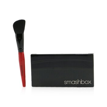 Smashbox Step By Step Contour Kit (1 x Contour Palette + 1 x Contour Brush) - (Light/Medium)  11.47g/0.404oz