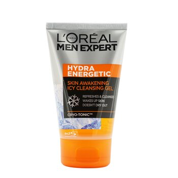 L'Oreal Čisticí pleťový gel Men Expert Hydra Energetic Skin Awakening Icy Cleansing Gel  100ml / 3.4oz