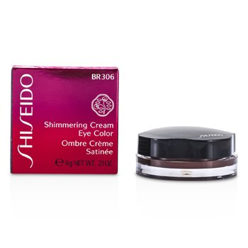 Shiseido Sombra Shimmering Cream Eye Color - # BR306 Leather  6g/0.21oz