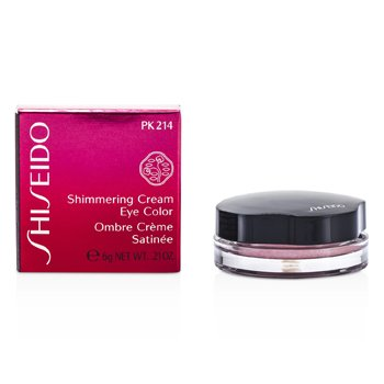 Shiseido Shimmering Cream Eye Color - Pewarna Mata - # PK214 Pale Shell  6g/0.21oz