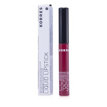 Korres Raspberry Antioxidant Liquid Lipstick - #56 Red  3.5ml/0.12oz