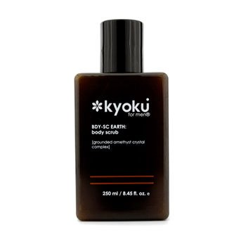 Kyoku For Men Earth Body Scrub  250ml/8.45oz