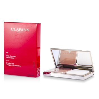 Clarins Everlasting Compact Foundation SPF 15 - # 109 Wheat  10g/0.35oz