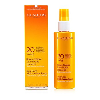 Clarins Sun Care Milk-Lotion Spray Moderate Protection UVB/UVA 20  150ml/5.3oz