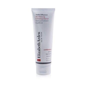 Elizabeth Arden Złuszczający żel do mycia twarzy do skóry mieszanej Visible Difference Skin Balancing Exfoliating Cleanser (Combination Skin)  125ml/4.2oz
