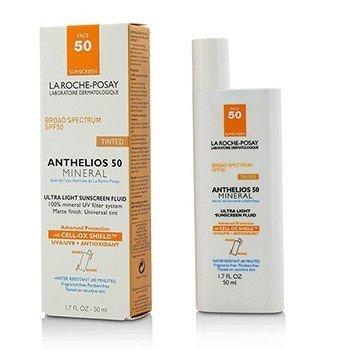 La Roche Posay Anthelios 50 سائل واقي من أشعة الشمس معدني خفيف اللون   50ml/1.7oz