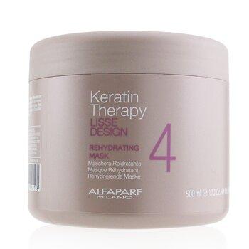 AlfaParf Lisse Design Keratin Therapy Mascarilla Hidratante (Tamaño Salón)  500ml/17.63oz