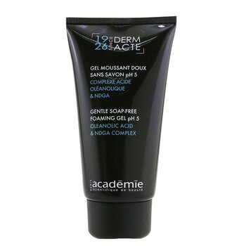 Academie Derm Acte Gentle Soap-Free Foaming Gel pH5  150ml/5oz