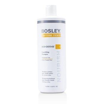 Bosley Professional Strength Bos Defense Подхранващ Шампоан ( За Нормална към Фина Боядисана Коса )  1000ml/33.8oz