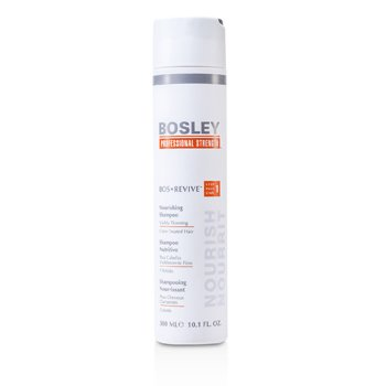 Bosley Professional Strength Bos Revive Поживний Шампунь (Для помітно тонкого, фарбованого Волосся)  300ml/10.1oz