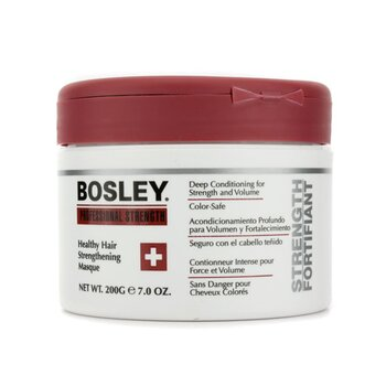 Bosley Professional Strength Healthy Hair Strengthening Masque (For Damaged and Weak Hair)  200g/7oz