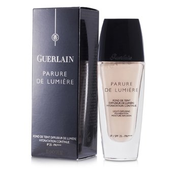 Guerlain Parure De Lumiere Light Diffusing Flytende Foundation SPF 25 - # 01 Beige Pale  30ml/1oz