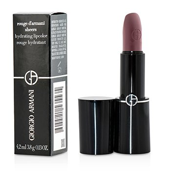 Giorgio Armani Rouge d'Armani Sheers Hydrating Lipcolor - # 601 Plum  3.8g/0.13oz