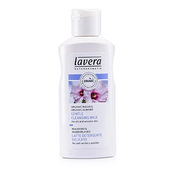 Lavera Gentle Cleansing Milk (For Dry & Sensitive Skin)  125ml/4.1oz