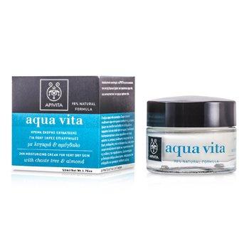 Apivita Aqua Vita 24H Moisturizing Cream (For Very Dry Skin)  50ml/1.76oz