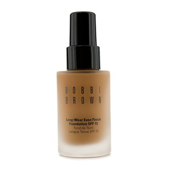 Bobbi Brown Long Wear Even Finish Foundation SPF 15 - Alas Bedak - # 6.5 Warm Almond  30ml/1oz