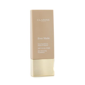 Clarins Ever Matte Skin Balancing Oil Free Foundation SPF 15 - # 114 Cappuccino  30ml/1.1oz