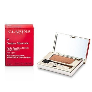 Clarins Ombre Minerale Smoothing & Long Lasting Mineral Eyeshadow - # 07 Auburn  2g/0.07oz