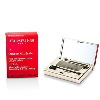 Clarins Sombra Ombre Minerale Smoothing & Long Lasting Mineral Eyeshadow - # 11 Silver Green  2g/0.07oz