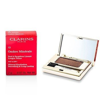 Clarins Mineralny cień do powiek Ombre Minerale Smoothing & Long Lasting Mineral Eyeshadow - #13 Dark Chocolate  2g/0.07oz