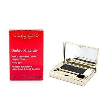 Clarins Mineralny cień do powiek Ombre Minerale Smoothing & Long Lasting Mineral Eyeshadow - #15 Black Sparkle  2g/0.07oz