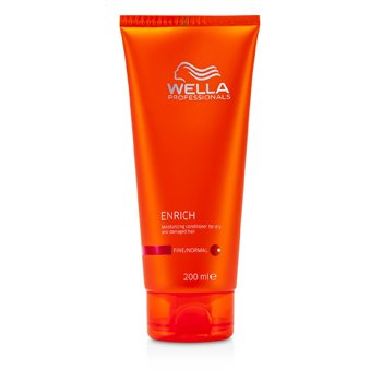 Wella Condicionador Enrich Moisturizing Conditioner For Dry & Damaged Hair (cabelo fino/normal)  200ml/6.7oz