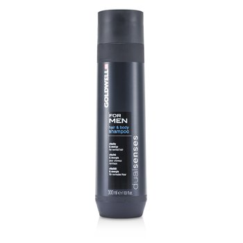 Goldwell Dual Senses For Men Hair & Body Shampoo (For Normal Hair)  300ml/10.1oz