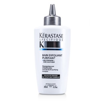Kerastase Specifique Bain Exfoliant Purifiant Anti-Dandruff Purifying Shampoo (p/ couro cabeludo oleoso)  200ml/6.8oz