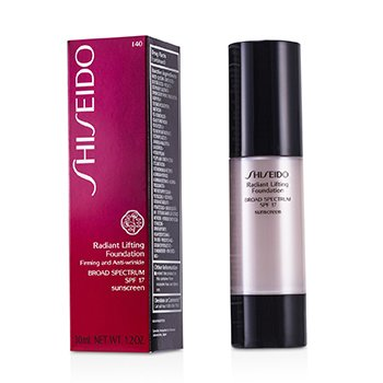 Shiseido Radiant Lifting Foundation SPF 17 - # I40 Natural Fair Ivory  30ml/1.2oz