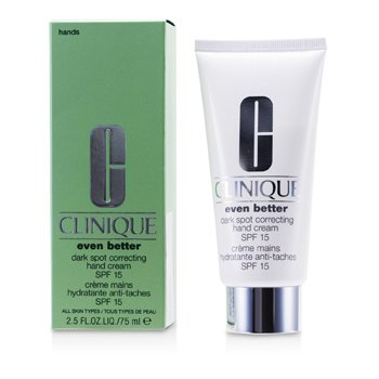 Clinique Even Better Dark Spot Correcting Krim Tangan SPF 15  75ml/2.5oz
