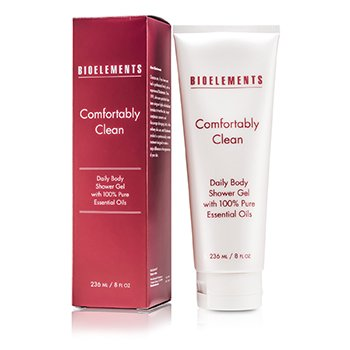 Bioelements Comfortably Clean Daily Body Shower Gel Pembersih  236ml/8oz