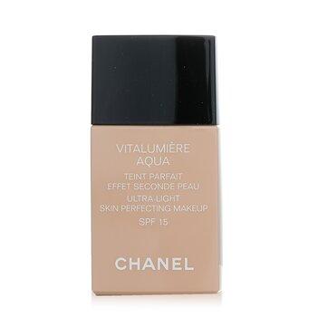 Chanel Base liquida Vitalumiere Aqua Ultra Light Skin Perfecting Make Up SPF15 - # 10 Beige  30ml/1oz