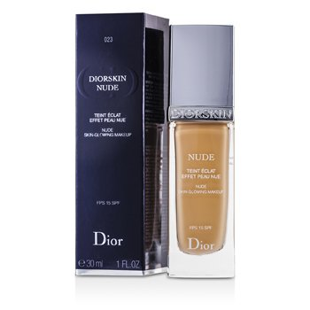 Christian Dior Base Diorskin Nude Skin Glowing Makeup SPF 15 - # 023 Peach  30ml/1oz