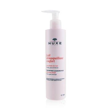 Nuxe Leite de limpeza calmante c/ petalas de rosa (pele noraml, seca e sensivel)  200ml/6.7oz