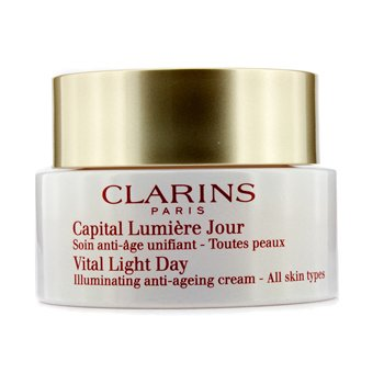Clarins Vital Light Day Crema Antienvejecimiento Iluminadora (Sin Embalaje)  50ml/1.7oz
