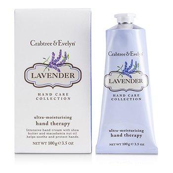 Crabtree & Evelyn Lavender Terapia de Manos Ultra Hidratante  100g/3.5oz