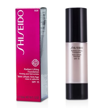 Shiseido Radiant Base Maquillaje Alisadora SPF 15 - # B20 Natural Light Beige  30ml/1.2oz