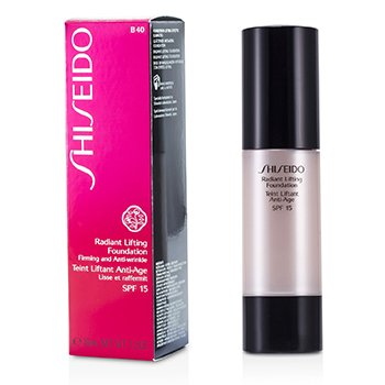 Shiseido Radiant Base Maquillaje Alisadora SPF 15 - # B40 Natural Fair Beige  30ml/1.2oz