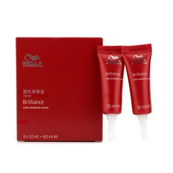 Wella Brilliance Color Protection Serum  6x10ml