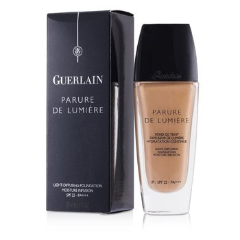 Guerlain Parure De Lumiere Light Diffusing Fluid Foundation SPF 25 - # 04 Beige Moyen  30ml/1oz