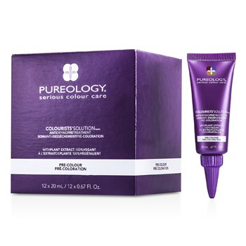 Pureology Colourists' Solution Anti Drying Pre-Tratamiento  12x20ml/0.67oz
