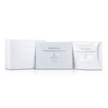 Christian Dior Diorsnow White Reveal Extreme Cooling Gel Mask  12x13ml/0.43oz