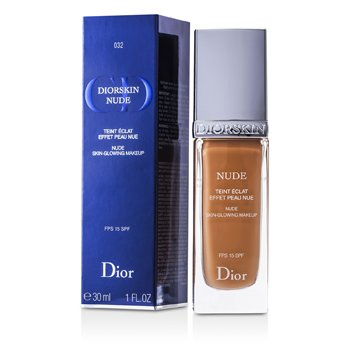 Christian Dior Diorskin Nude Skin Glowing Makeup SPF 15 - # 032 Rosy Beige  30ml/1oz