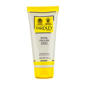 Yardley Royal English Daisy Luxury Body Wash  200ml/6.8oz